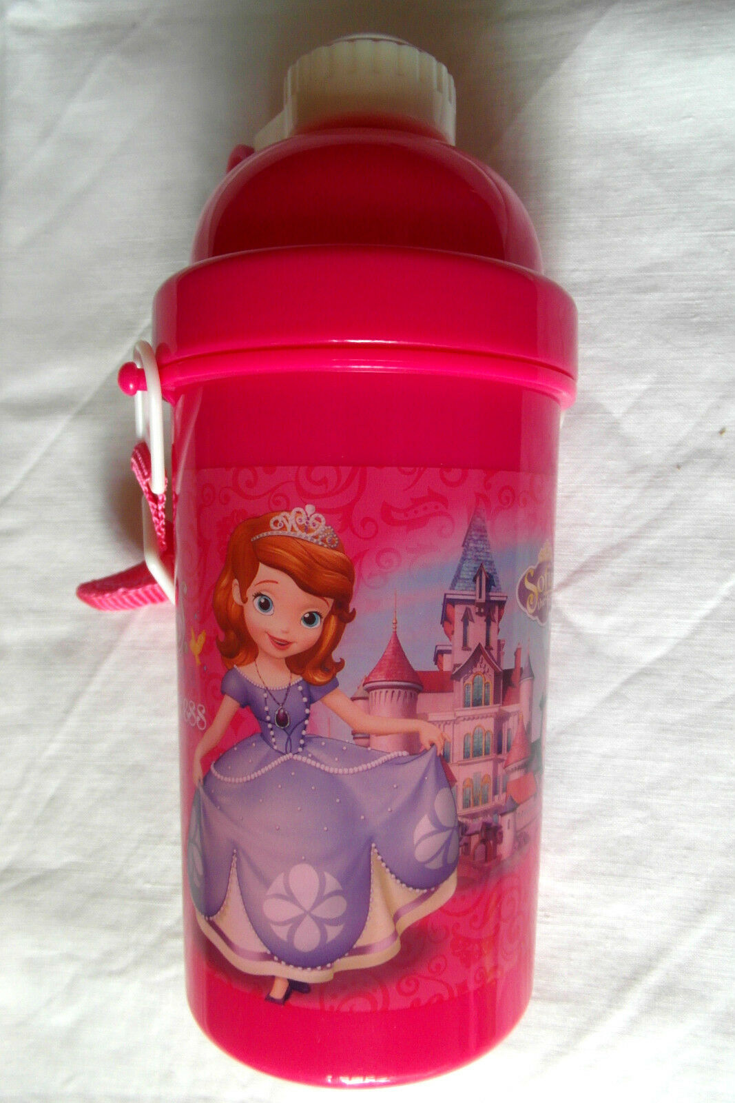 Disney Sofia the First Pop-Up Water Bottle 500ml