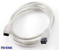 6 ft. IEEE 1394a 6 Pin to 9 Pin 1394b Firewire Cable