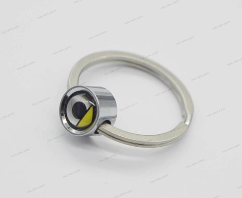 1x Car Auto Logo Styling Keyring Key Ring Keychain Badge Accessories For Smart