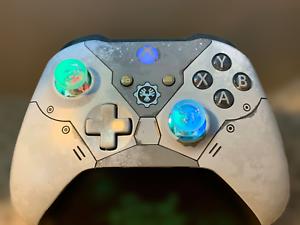 Limited Edition Kait Diaz Gears Xbox One Controller w LED MOD Fortnite COD HALO