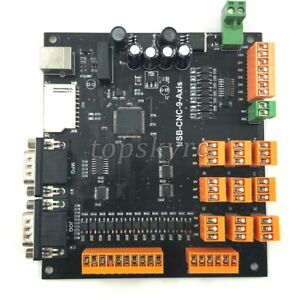 Image Is Loading 9 Axis Cnc Controller Kit 100khz Usb Stepper