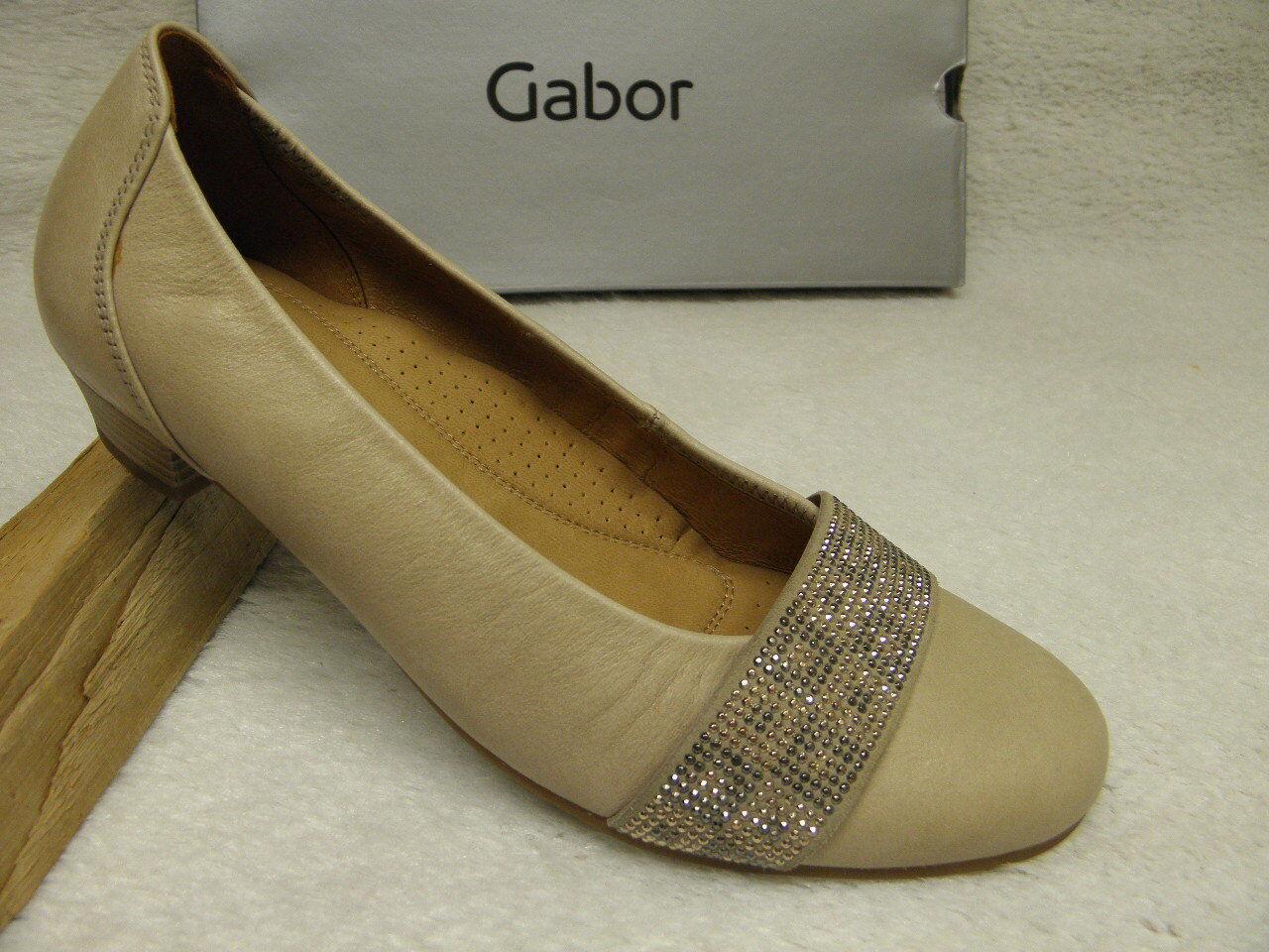 Gabor ®  ROTuziert  bisher    crema Pumps superbequem  (D816)