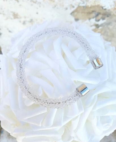 Mode Femme *Au Choix Bracelet Rigide Ouvert Stardust Strass Cristaux Zirconium