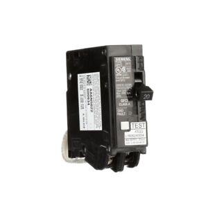 Details about Siemens 20 Amp Single Pole Type QPF2 GFCI Circuit Breaker  QF120AP