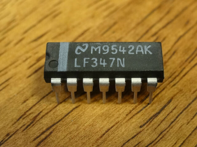 LF347N  DIP14 IC  ********NEW, AVAILABLE FOR FAST DISPATCH!********