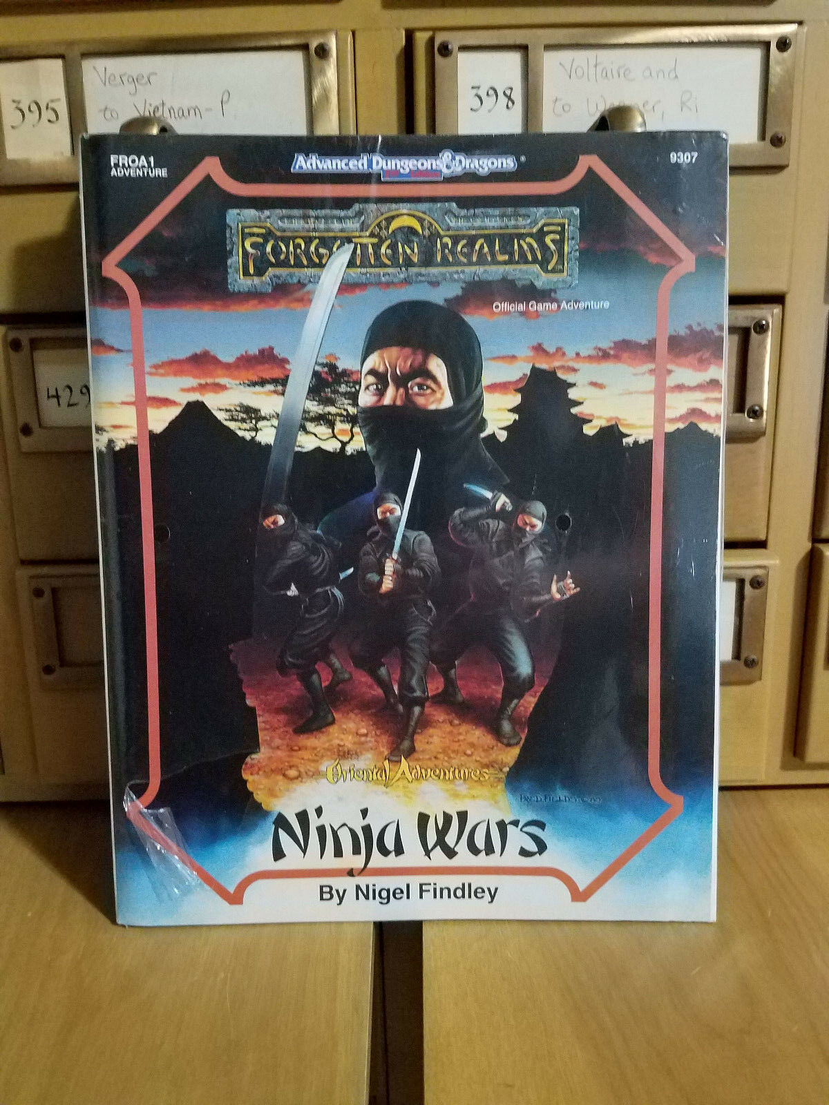 Sealed Forgotten Realms -Ninja Wars AD&D 9307 FROA1✰Sarge & Reds✰