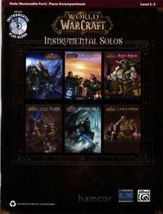Amical World Of Warcraft Alto Partitions Livre Avec Cd-afficher Le Titre D'origine Blanc Pur Et Translucide