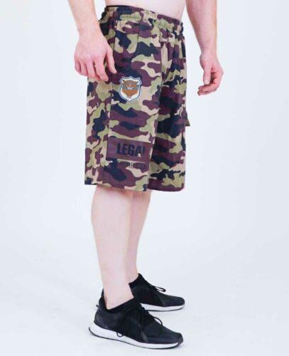 LP Limits/Legal Power Short Camouflage-Coton/Polyester 6166-864