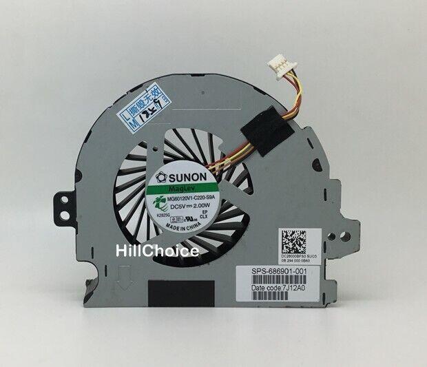New Original HP Envy M6 M6T CPU Cooling Fan MG60120V1-C220-S9A 686901-001
