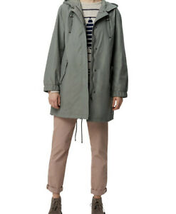 White-Stuff-Hollingsworth-Technical-Parka-Coat-Green-Bnwt-Size-8