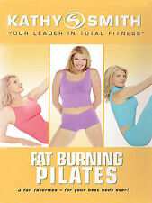 Kathy Smith - FAT BURNING PILATES (DVD) 3 workouts SEALED NEW