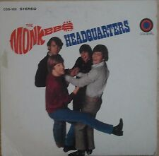 The Monkees Headquarters 1967 Vinyl LP Colgems Records COS-103
