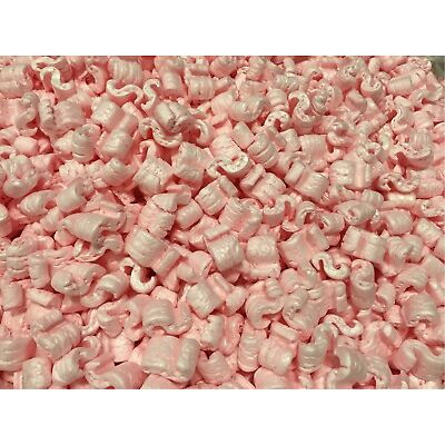 Packing Peanuts Shipping Anti Static Loose Fill 150 Gallons 20 Cubic Feet Pink