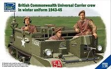 Riich Models RV35028 1/35 British Commonwealth Universal Carrier Crew