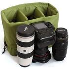 Waterproof DSLR SLR Camera Insert Padded Partition Camera Lens Bag Handbag Case