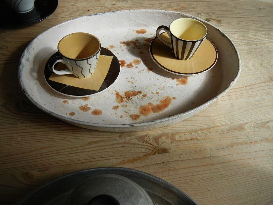 Andet, Retro bakker - serveringsbakker