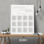 Personalised-Modern-Wedding-Seating-Plan-Planner-Table-Plans-Chart-A1-A2-A3 thumbnail 7