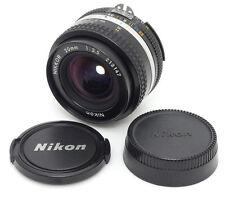 Nikon Nikkor Ai-s 20mm F3.5 MF Lens. Filter