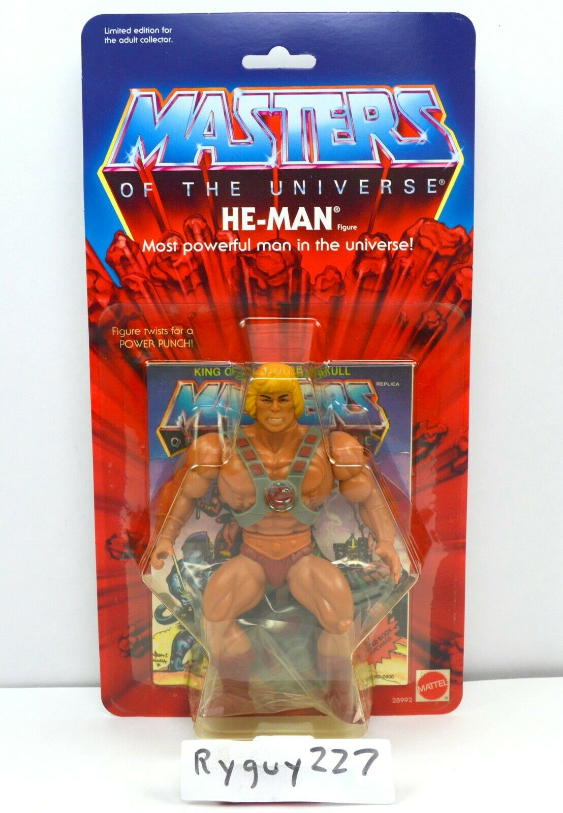 MOTU, Commemorative He-Man, MISB, sealed box, MOC, Masters of the Universe