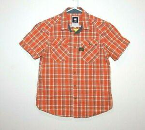G-Star-Raw-New-Arizona-Cross-Short-Sleeve-Shirt-Size-Men-039-s-XL