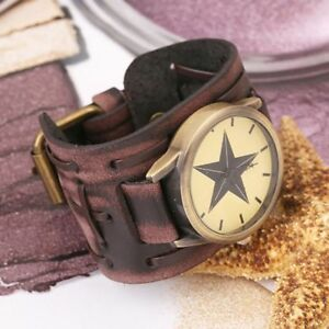Punk-Available-Wrist-Watches-Band-Retro-Wristwatch-Watch-Bracelet-Leather