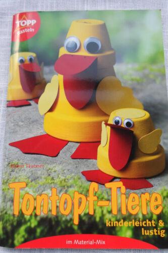 1 von 1 - Tontopf-Tiere - kinderleicht und lustig von Armin Täubner Gartendeko Tontöpfe