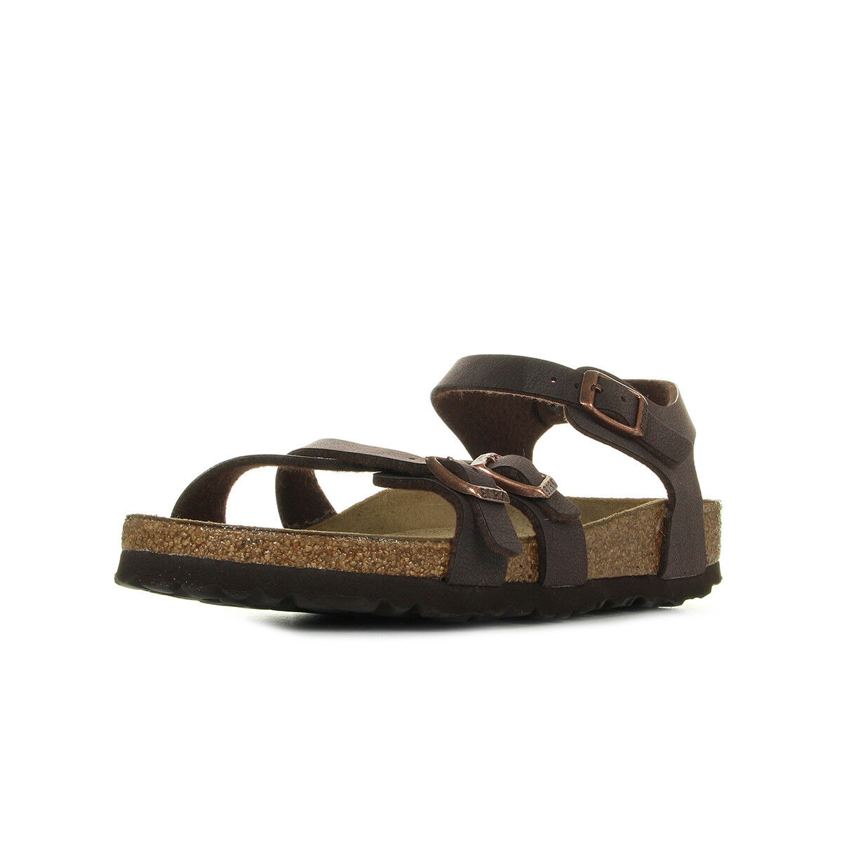 NIB Jack Rogers Hollis Leather Thong Style Sandals in Geranium/Gold