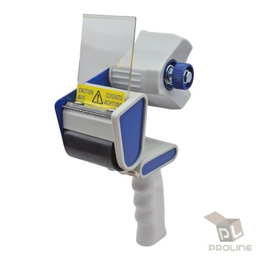 "3/"" Heavy Duty Tape Gun Dispenser Packing Machine Shipping Grip Sealing Cutter"