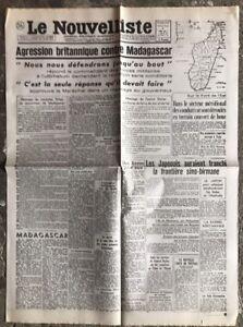 N13-La-Une-Du-Journal-Le-Nouvelliste-6-Mai-1942