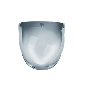 3-Snap-Bubble-Wind-Shield-Visor-For-Biltwell-Gringo-amp-Bonanza-Motorcycle-N5L2
