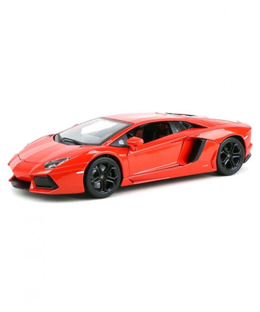 New Blago 1 18 scale Lamborghini Aventador LP 700-4 BR-18-11033 orange Japan