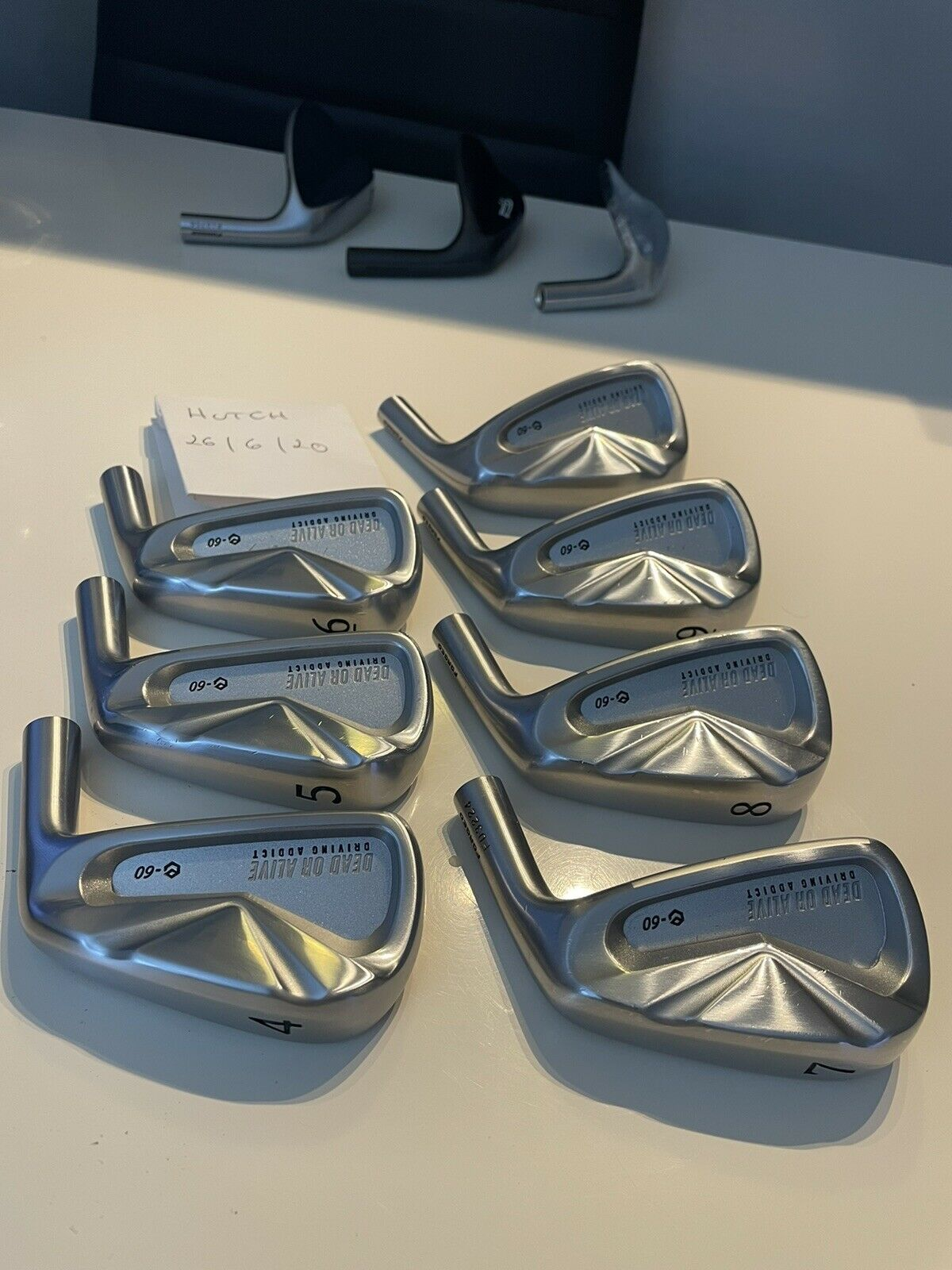 Image 1 - Limited Edition Epon Dead Or Alive e60 Forged Irons 4-PW
