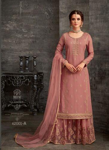 Salwar Kameez Indian Pakistani Suit ethnic Sharara Dress Designer Party Wear BL