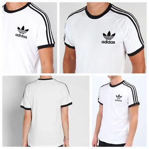 Caricamento dell'immagine in corso Autentico-Adidas-Da-Uomo-California- Trifoglio-T-shirt-