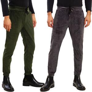 Pantaloni TUTA Uomo Basic SPORT in Cotone con elastico e Laccio regolabile