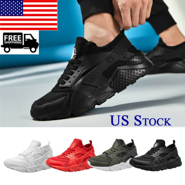 Mens Womens Breathable Sneakers Running Walking GYM Sports Lace up Casual Shoes