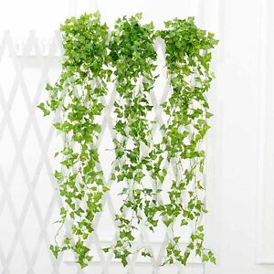 2-1m-Artificial-Fake-String-Leaves-Ivy-Vine-Plants-Hanging-Garland-Flower-Decor