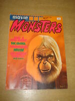 MOVIE MONSTERS #2 FN (6.0) FEBRUARY 1975 DOC SAVAGE HORROR MAGAZINE (A)<