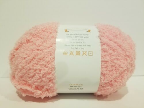 Lot of 2 Tickle Pink Evonnes Baby Soft Yarn #5 Bulky Big Skein 7.05 OZ PIPSQUEAK