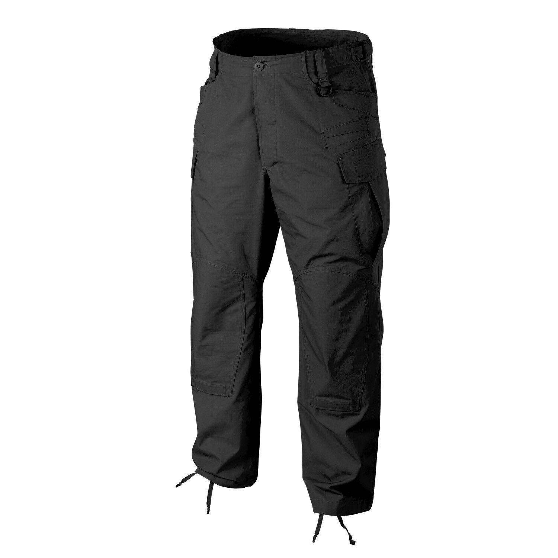 Helikon TEX SFU NEXT Tactical Combat Pantaloni Outdoor Army Pants NERO MEDIUM REG