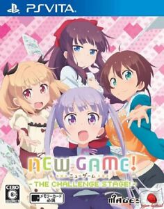NEW GAME THE CHALLENGE STAGE PS Vita 5pb Sony Playstation Vita From Japan