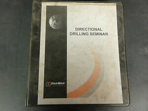 Ditch-Witch-Directional-Drilling-Seminar-Manual