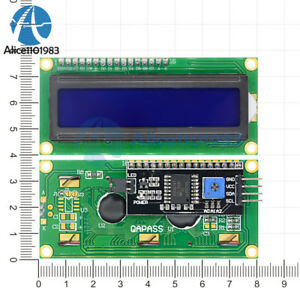 Iic-i2c-twi-Sp-me-Serial-interface1602-16x2-Caracteres-modulo-LCD-de-pantalla-azul