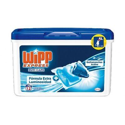 Wipp Detergente Duo-Cápsulas (12 pastillas)