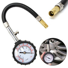 0-100PSI Car Truck Auto Motor Tyre Tire Air Pressure Gauge Dial Meter Tester New