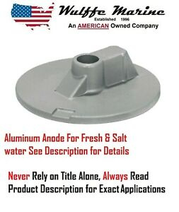 Tecnoseal Trim Cylinder Anode Alpha Aluminum