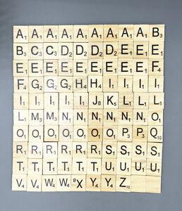 DIY 100X Wooden blocks Fit Children Develop intelligence Puzzle letters block