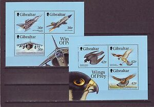 GIBRALTAR-SGMS889-MNH-1999-WINGS-OF-PREY-1st-SERIES