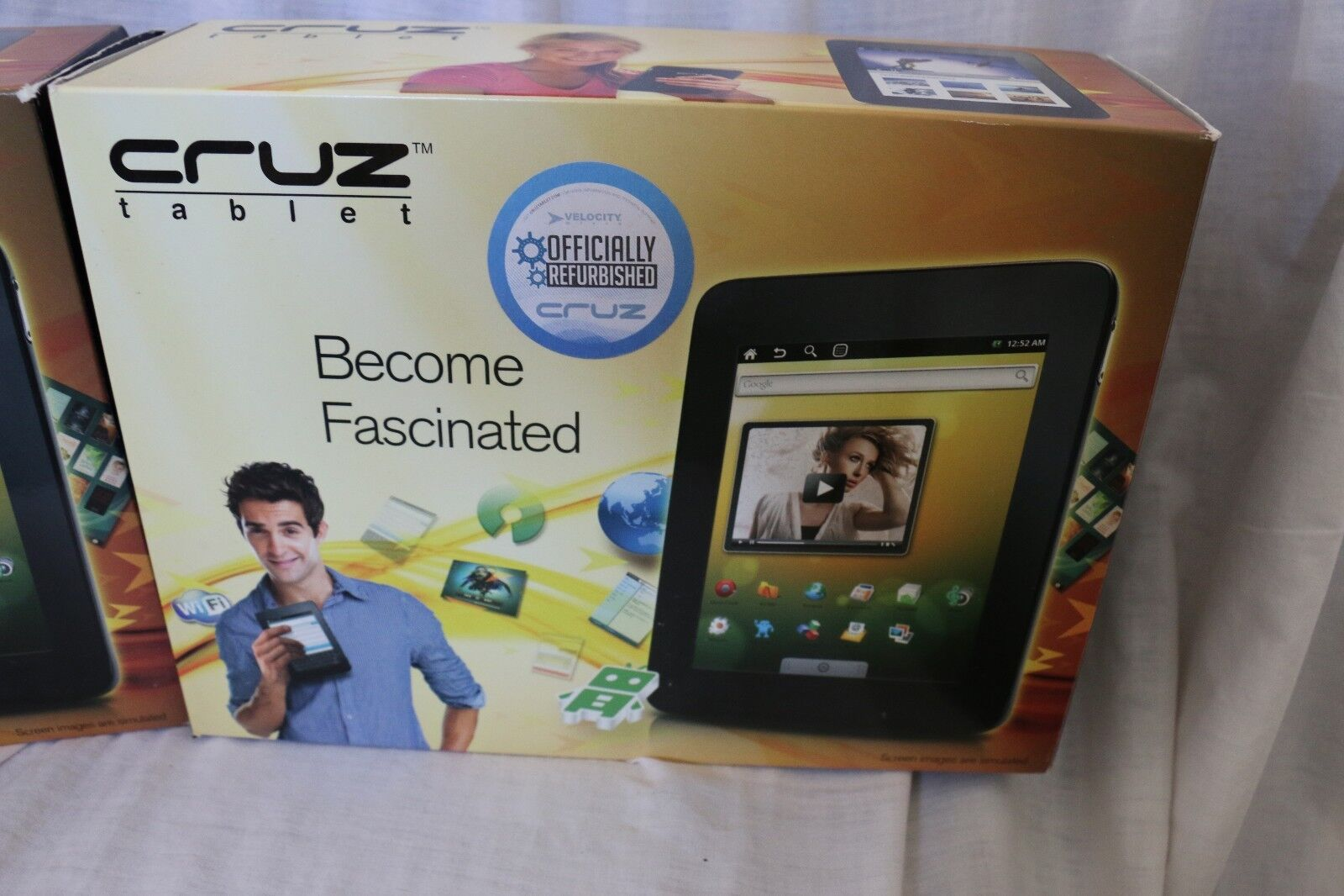 Velocity Micro Cruz T301 2GB, Wi-Fi, 7in - Black
