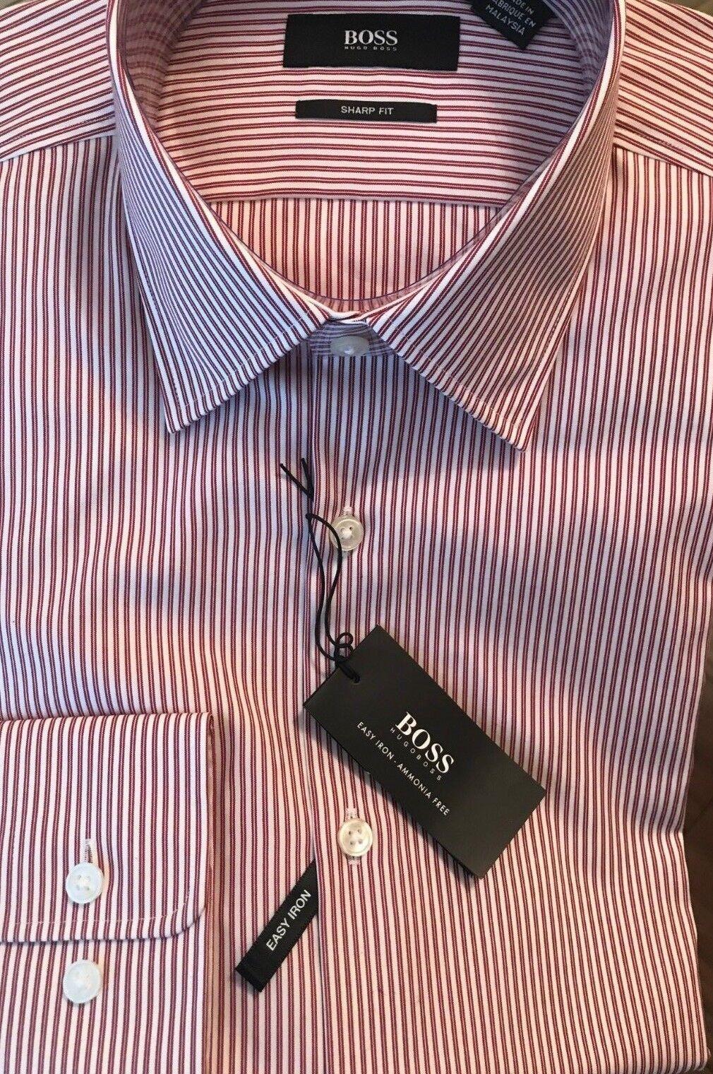 BOSS by Hugo Boss -Sharp Fit Men Shirt - Size 14 1 2 (32 33)